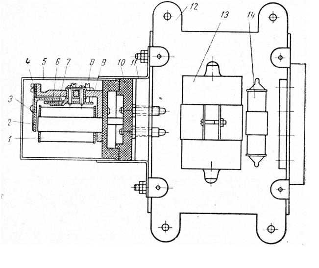 Автоматическое регулирование напряжения трансформаторов
