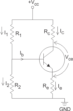 Смещение биполярного транзистора