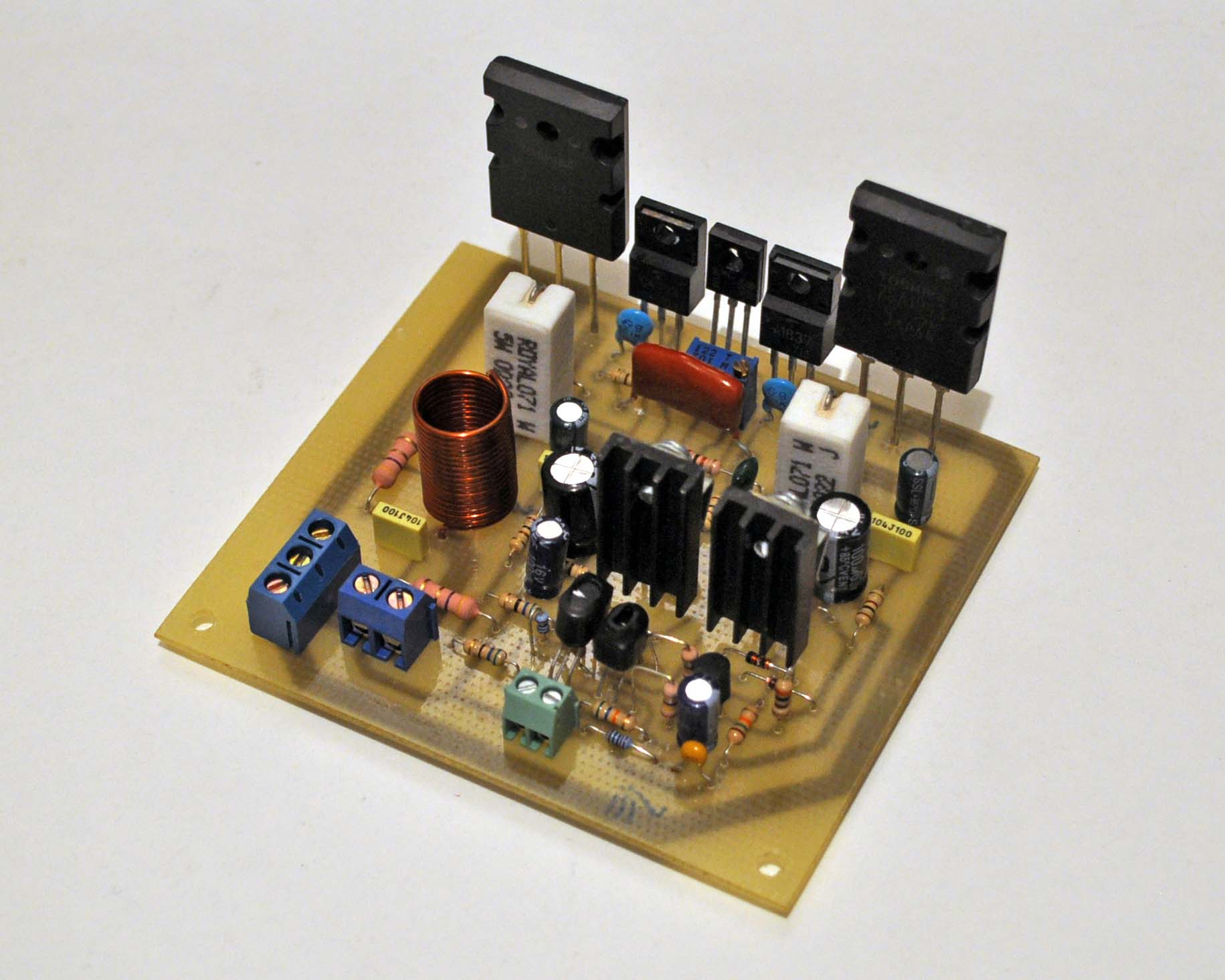 Транзисторные усилители