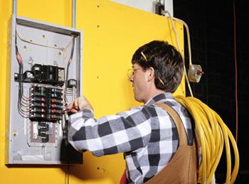 Проведение электромонтажных работ